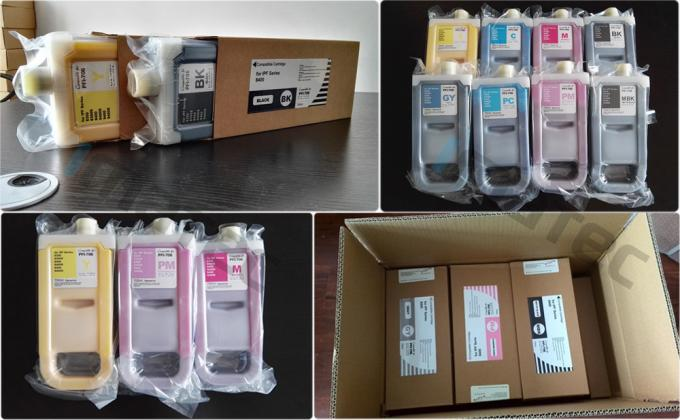 Replacement Wide Format Inks PFI-706 Refillable Ink Tank Cartridges 700Ml