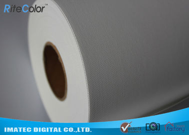 چین 10Mil Thickness Polyester Canvas Rolls / 260Gsm Water Resistant Canvas کارخانه