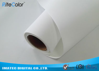چین 300D×300D Matte Polyester Canvas Fabric Roll For Wide Format Printers کارخانه