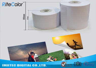 چین RC Coating 240GSM Drylab Minilab Photo Paper for Noritsu / Epson / Fujifilm Dry Minilabs کارخانه