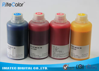 چین 1 Liter Sharp Sublimation Printing Ink Compatible Piezoelectric Printhead Inkjet Epson Printers کارخانه