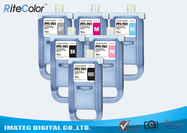 Pigment Wide Format Inks / 700mL Ink Cartridges for Canon iPF8400S iPF8000 Printers