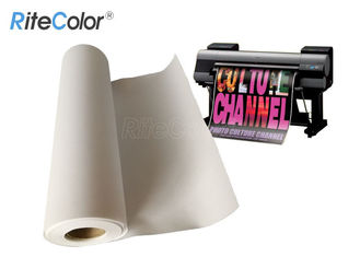 360gsm بزرگ فرمت Matte Polyester Cotton Artist Canvas Fabric Roll