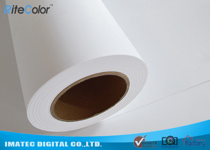 Self Adhesive PP Synthetic Paper 7 Mil , PP Matte Sticker Paper For Banners