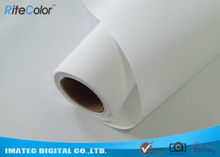 300D×300D Matte Polyester Canvas Fabric Roll For Wide Format Printers