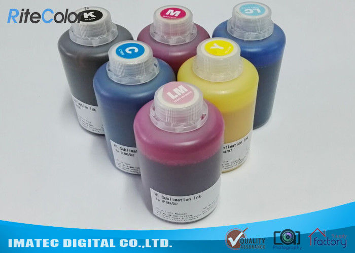 DX-7 Printer Head Dye Sublimation Heat Transfer Ink For T Shirt Printing 1.1kgs Per Bottle