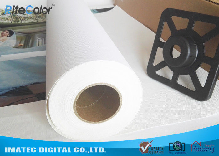 Waterproof Digital Printing Wall Art Matte Inkjet Canvas Roll Blank Cotton Fabric