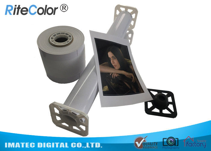 260gsm Rc Glossy Photo Paper 24 Inch X 30m Graphic Output Dry Instantly