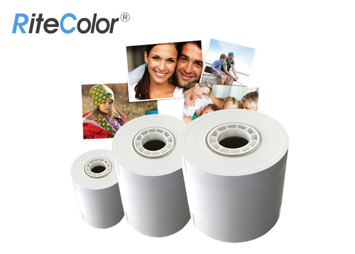 "RC Digital Microporous Glossy Minilab Photo Paper Resin Coated 4"" 5"""