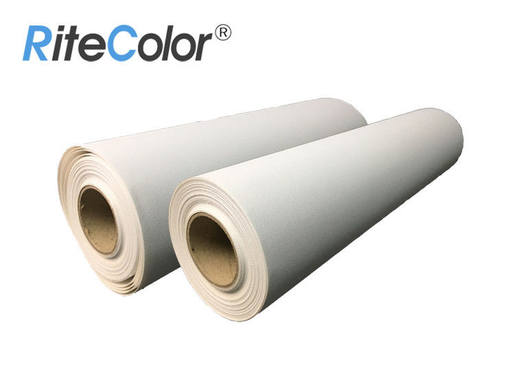 Matte Polyester Self Adhesive Canvas for Latex and Eco-Solvent Inks Printing