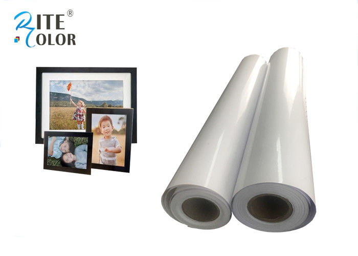 Resin Coated Eco Solvent Media 240gsm Glossy Photographic Paper Inkjet Photo Roll
