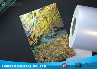 چین High Glossy Metallic Inkjet Media Supplies 260gsm Resin Coated Inkjet Photo Paper کارخانه